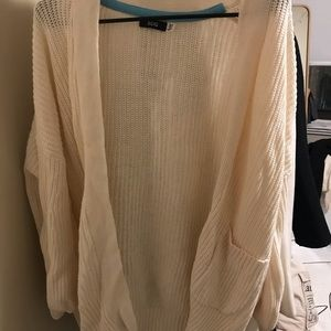 Urban Outfitters Cream Knit Cardigan